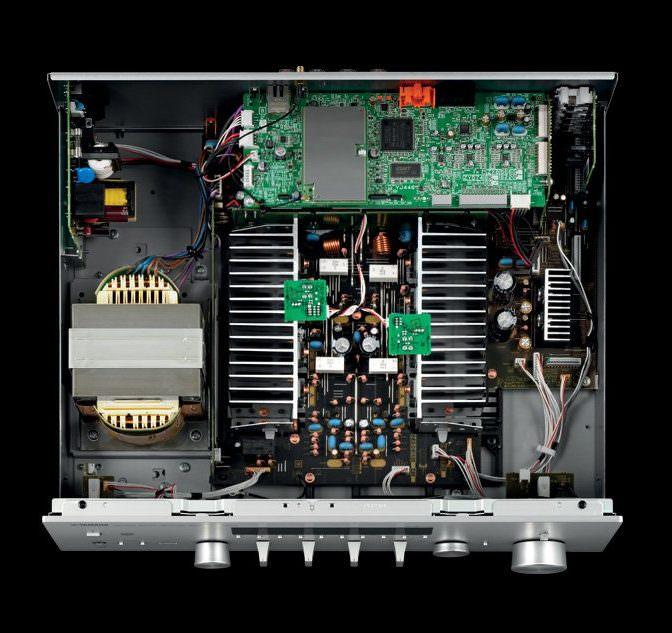 Yamaha R-N803 Inside