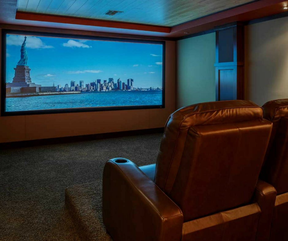 DescoAV Dolby Atmos Theater Screen