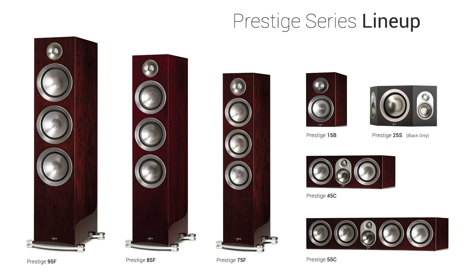 Paradigm Prestige Series Lineup Midnight Cherry